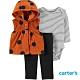 【Carter's】條紋點點3件組套裝(12M-24M) (背心/長褲) (台灣總代理) product thumbnail 1