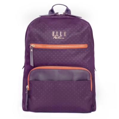 ELLE Active 自由展翼系列-後背包-大-紫色