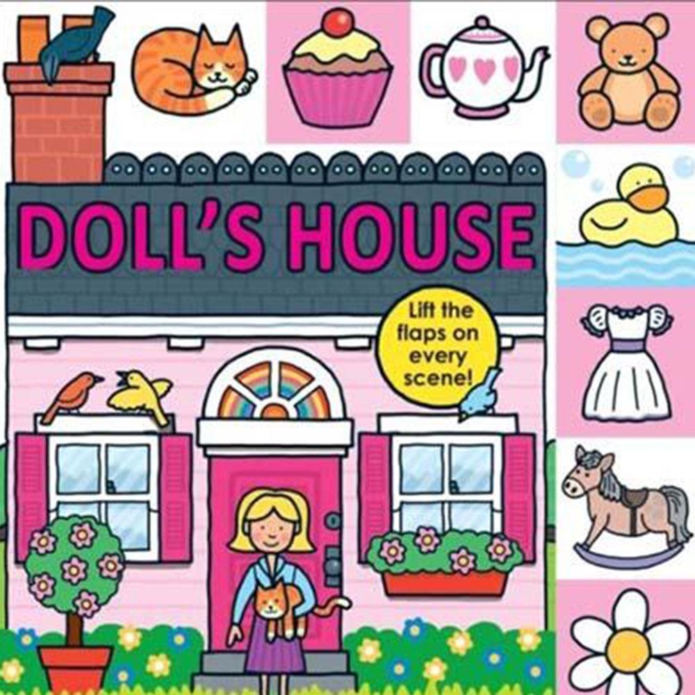 Doll's House 娃娃屋硬頁翻翻操作書(英國版)