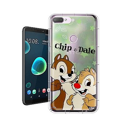 迪士尼正版 HTC Desire 12+/12 Plus 繽紛空壓安全手機殼(奇奇蒂蒂)