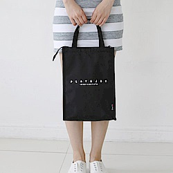 E.City_韓版多功能簡約手提收納包保溫多用袋