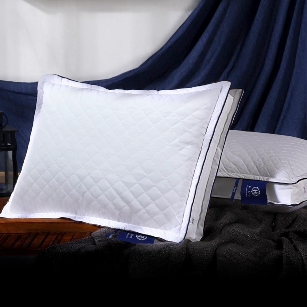 買一送一  Hilton 希爾頓 VIP貴賓 純棉立體銀離子抑菌獨立筒枕 product image 1