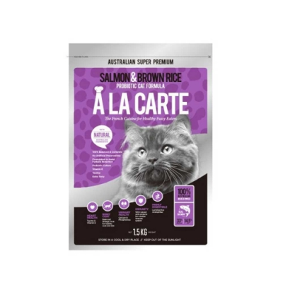 A LA CARTE阿拉卡特 全齡貓 鮭魚&益生菌配方500g