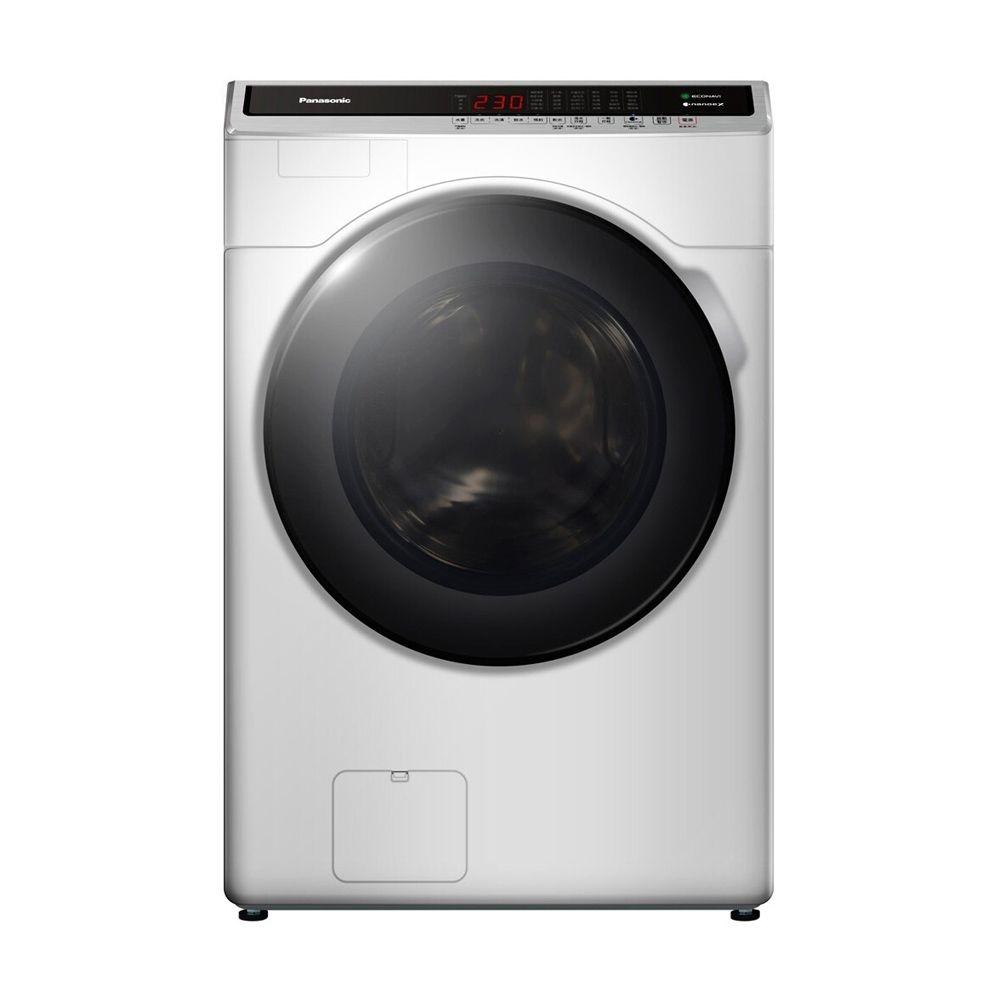 Panasonic國際牌 14公斤 變頻滾筒式溫水洗脫烘衣機 NA-V140HDH