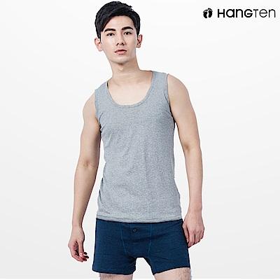 HANG TEN 純棉背心_灰(HT-B11004)