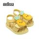 Melissa 可愛水果系列 鳳梨造型涼鞋 寶寶款 - 黃 product thumbnail 1
