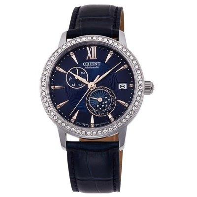 ORIENT 東方錶 璀璨星辰 藍寶石鏡面 機械錶(RA-AK0006L)藍/36.5mm
