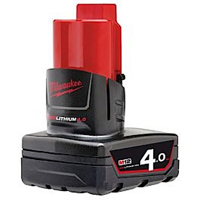 Milwaukee美沃奇 12V 4.0A電池(裸裝 全新)