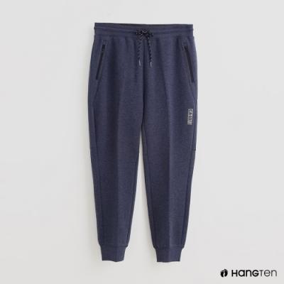 Hang Ten - 男裝 - 腰部鬆緊抽繩休閒長褲 - 藍