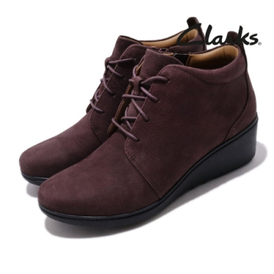 Clarks 休閒鞋 Un Tallara Eva 厚底 女鞋