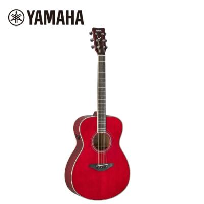 YAMAHA FS-TA RR TransAco 電民謠木吉他 酒紅色
