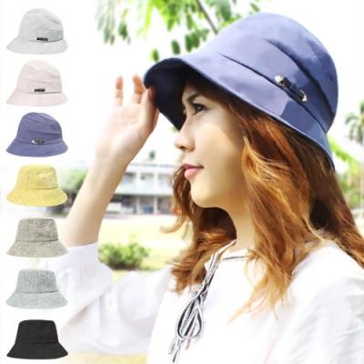 【Effect】日系百搭時尚棉麻機能遮陽帽(2入組/多款可選)