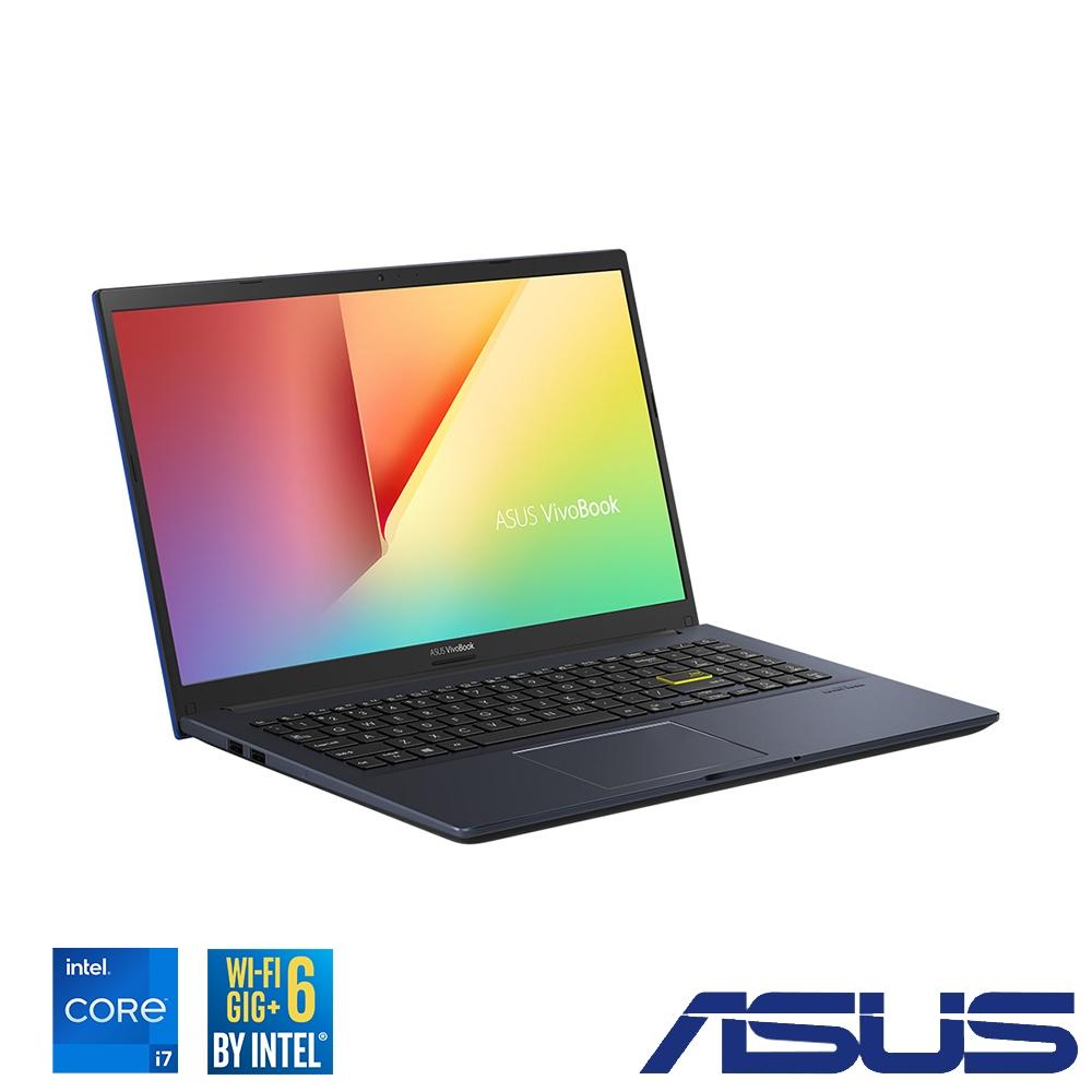 ASUS X513EP 15吋筆電 (i7-1165G7/MX330 2G獨顯/8G+8G/512G SSD/VivoBook 15/酷玩黑/特仕版)