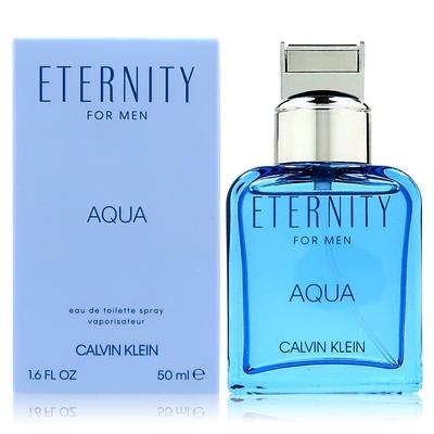 CALVIN KLEIN ETERNITY AQUA 永恆之水男性淡香水 50ML (平行輸入)