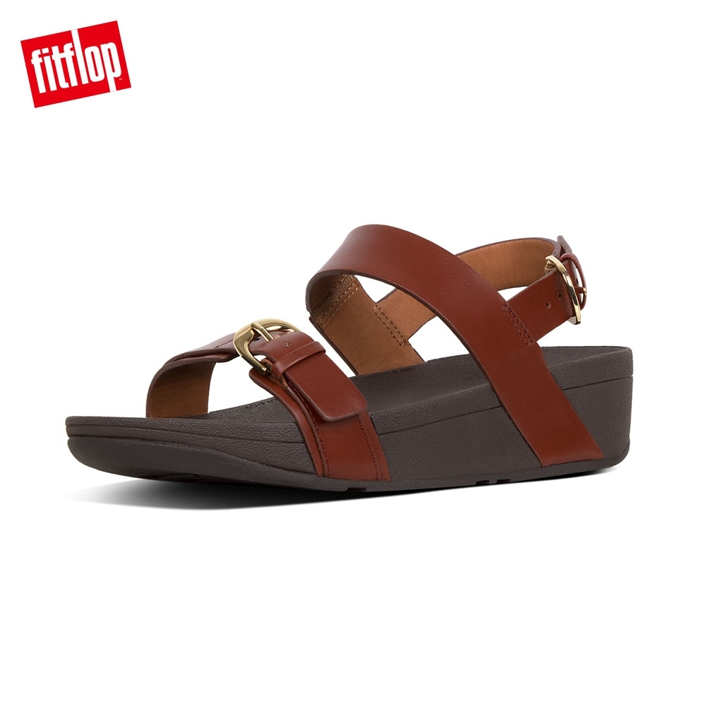 FitFlop EDIT BACK STRAP SANDALS 琥珀棕 product image 1
