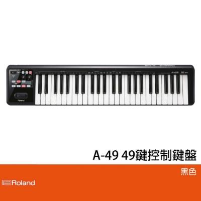 ROLAND A-49 / 49鍵可攜式控制鍵盤 / 黑色款 / 公司貨保固