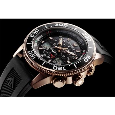 CITIZEN PROMASTER 限量光動能雙顯腕錶(JR4063-12E)44mm