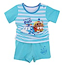 POLI波力短袖精梳純棉套裝 k50541 魔法Baby