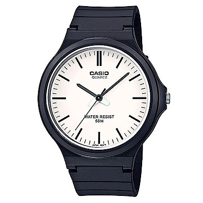 CASIO 超輕薄感實用必備大錶面指針錶-(MW-240-7E)白面羅馬字/45mm @ Y!購物