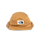 The North Face北面男女款卡其色保暖復古飛行員帽|3FGNT5C