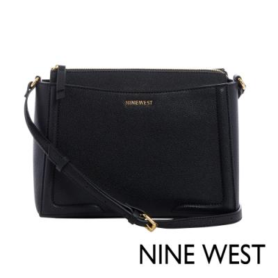 NINE WEST SHAYDEN梯型斜背包-黑色(117270)