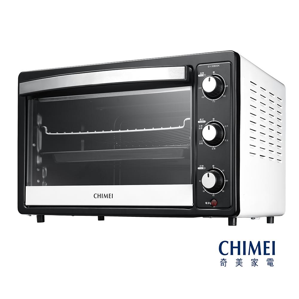 CHIMEI奇美30L家用旋風烤箱-簡約白 EV-30B0SK-W