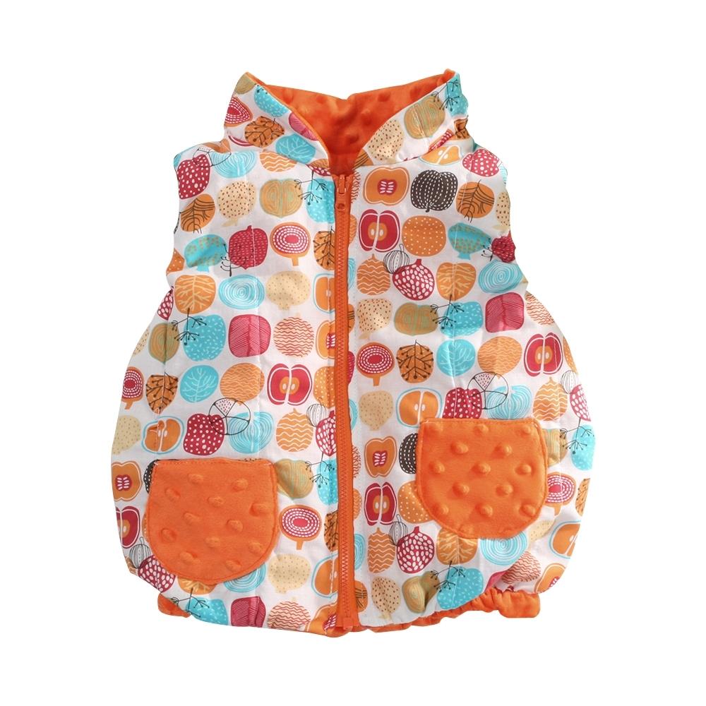 嬰幼兒台灣製鋪棉背心外套 b0214 魔法Baby