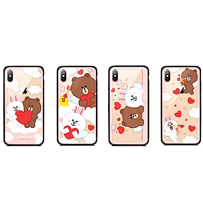 GARMMA LINE FRIENDS iPhone Xs Max 鋼化玻璃殼 @ Y!購物