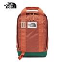 The North Face北面男女款復古紅綠拼接舒適防護休閒後背包 3KYYF7Z