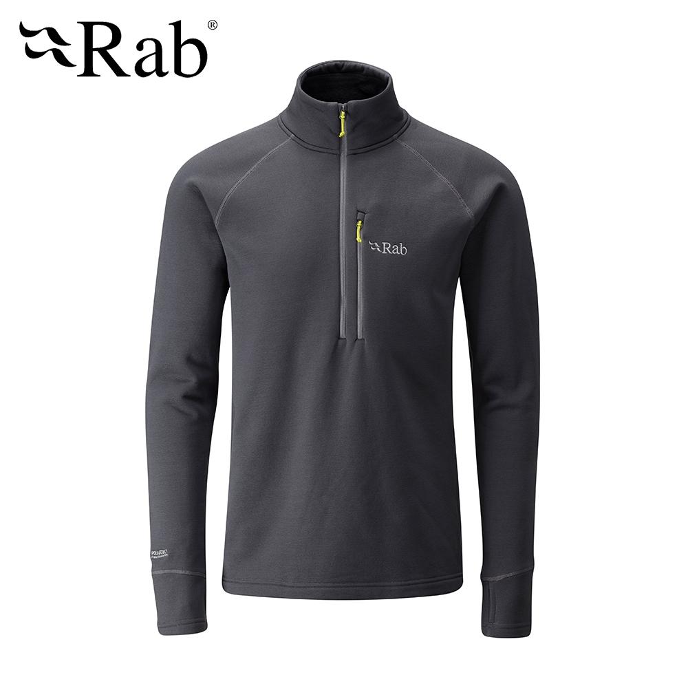 【RAB】Power Stretch Pro 保暖上衣 男款 鯨魚灰 #QFE62