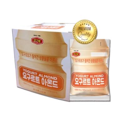 韓國Murgerbon 養樂多杏仁果 12包/盒(360g)