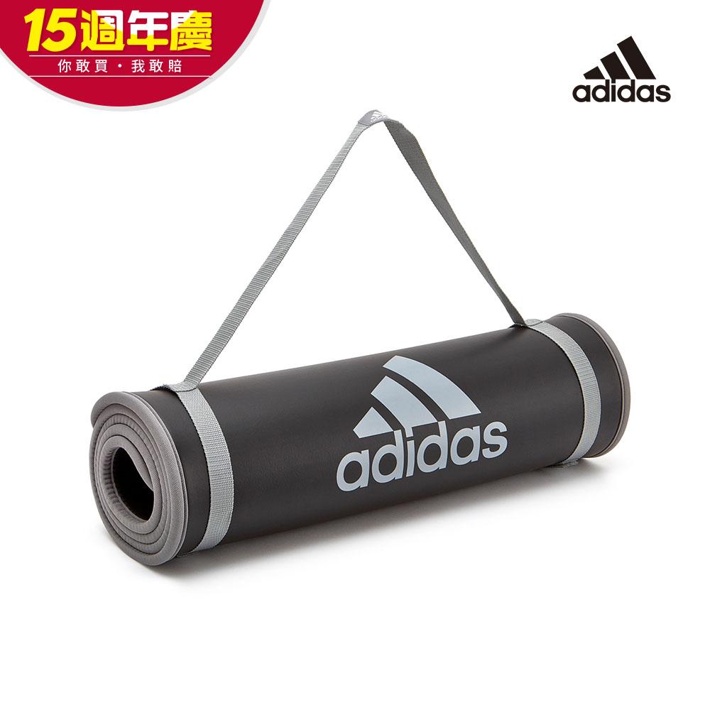 [時時樂]Adidas Training 專業加厚訓練運動墊-10mm(深灰) @ Y!購物