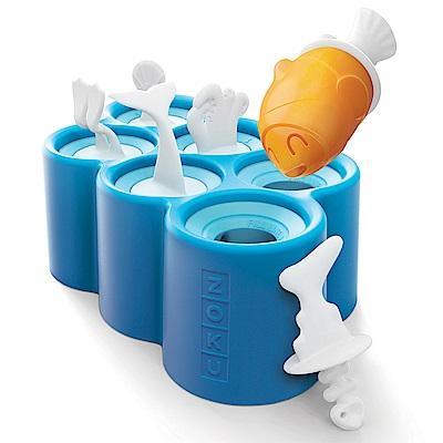 麗嬰房ZOKU小魚造型冰棒模具組6入