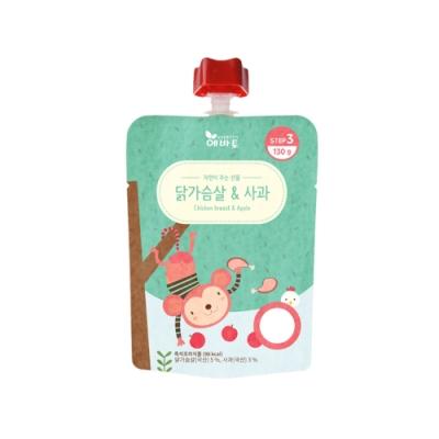 韓國 【EVERTTO】 嬰幼兒即食粥 9M+(雞肉蘋果、紅蘿蔔豆腐)