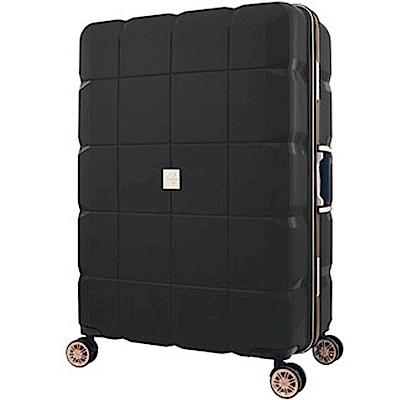日本 LEGEND WALKER  6023 - 60 - 24 吋 PP輕量行李箱 黑色