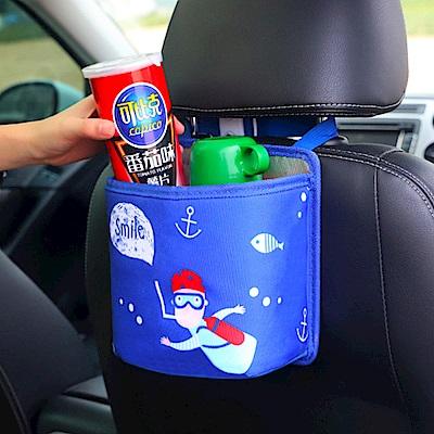 JOYNA汽車用品椅背收納袋置物袋雜物袋保溫袋垃圾桶