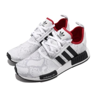 adidas 休閒鞋 NMD R1 襪套式 穿搭 男女鞋 海外限定 愛迪達 三葉草 Boost 情侶 白黑 FV3874