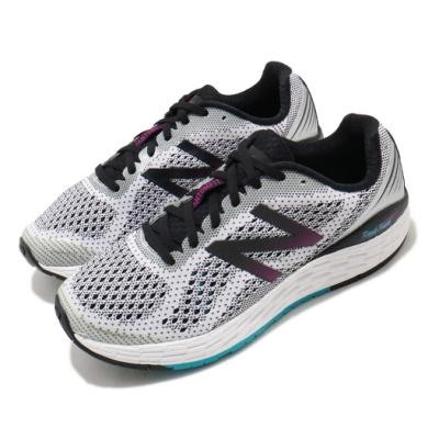 New Balance 慢跑鞋 Fresh Foam 寬楦 運動 女鞋 紐巴倫 輕量 透氣 舒適 避震 路跑 白 黑 WVNGOWB2D