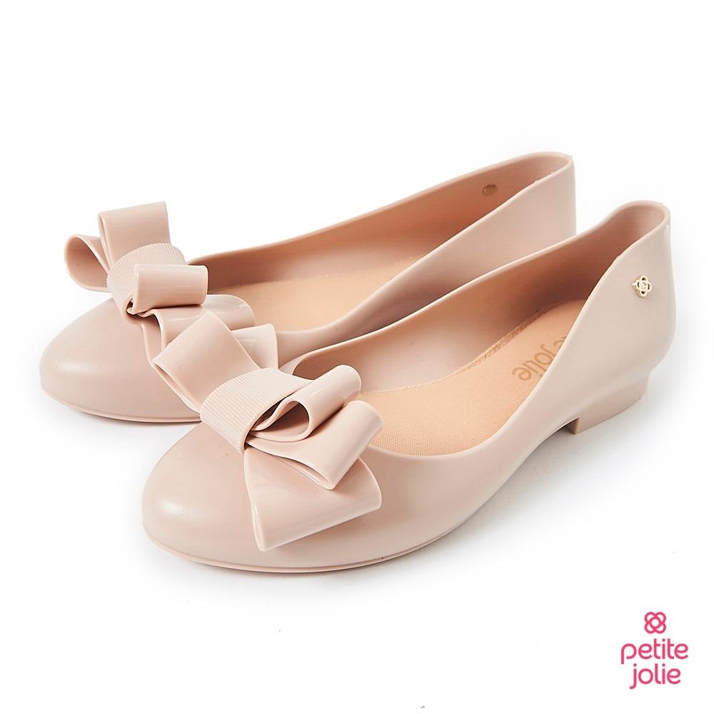 Petite Jolie--可愛麻花捲果凍娃娃鞋-粉膚