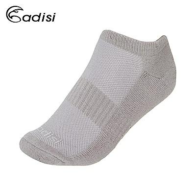 ADISI 毛巾底排汗運動踝襪 AS18058【灰色】