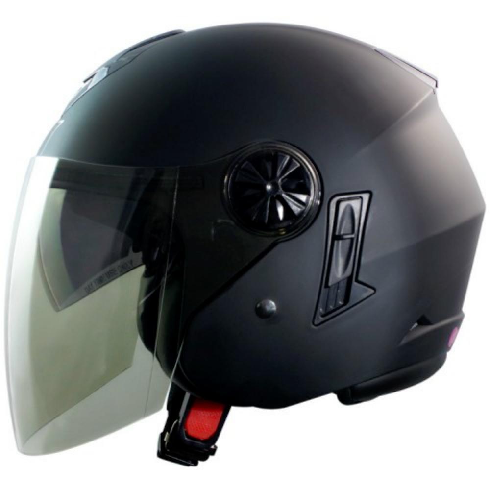 GP-5-時來運轉 繽紛安全帽 │導流通風設計│機車│內襯│開放式安全帽│內墨鏡 (消光黑)