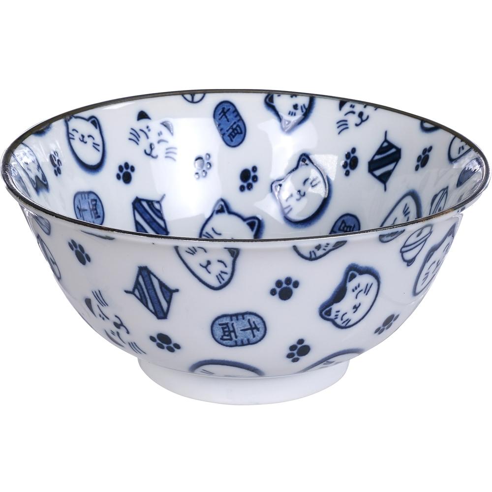 《Tokyo Design》瓷製餐碗(招財貓15cm)