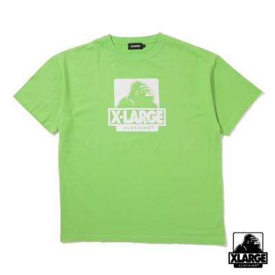 XLARGE S/S TEE OG短袖T恤-亮綠