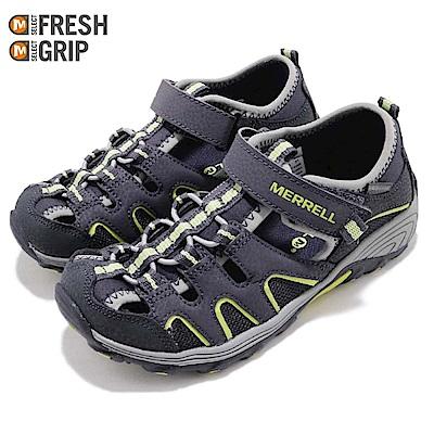 Merrell 涼拖鞋 ML-B H2O Hiker 童鞋