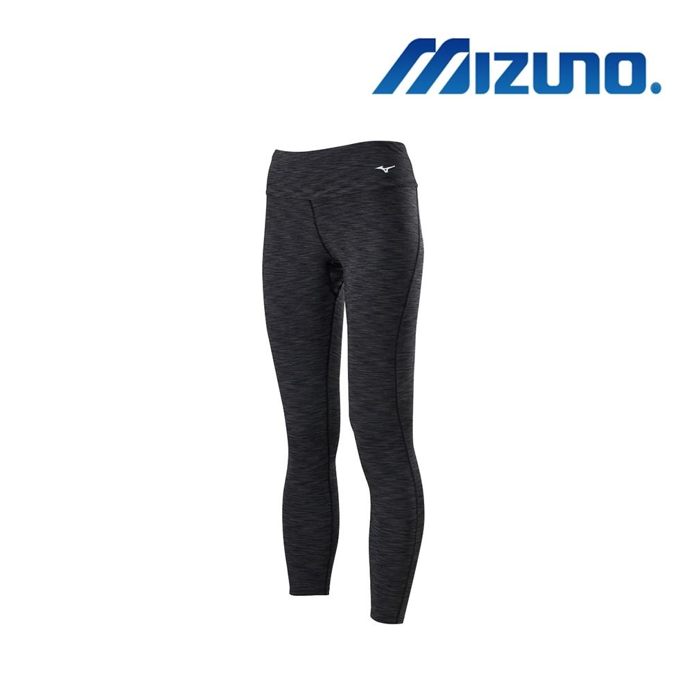MIZUNO 美津濃 女瑜珈褲 黑灰 K2TB020909