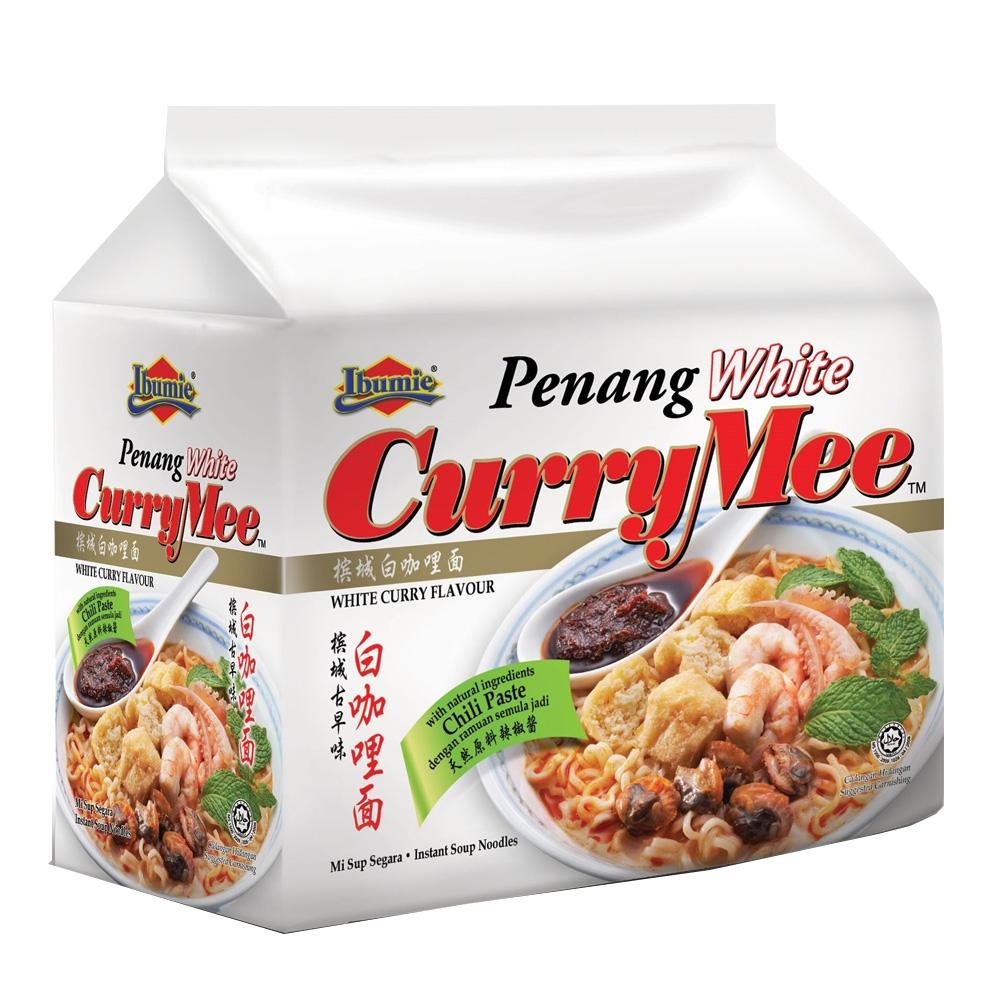馬來西亞 Ibumie益福-檳城白咖哩湯麵(經濟包) 105gx4包