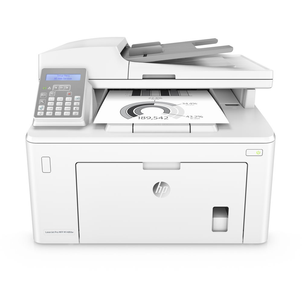 HP LaserJet Pro M148fdw  黑白雷射多功能事務機