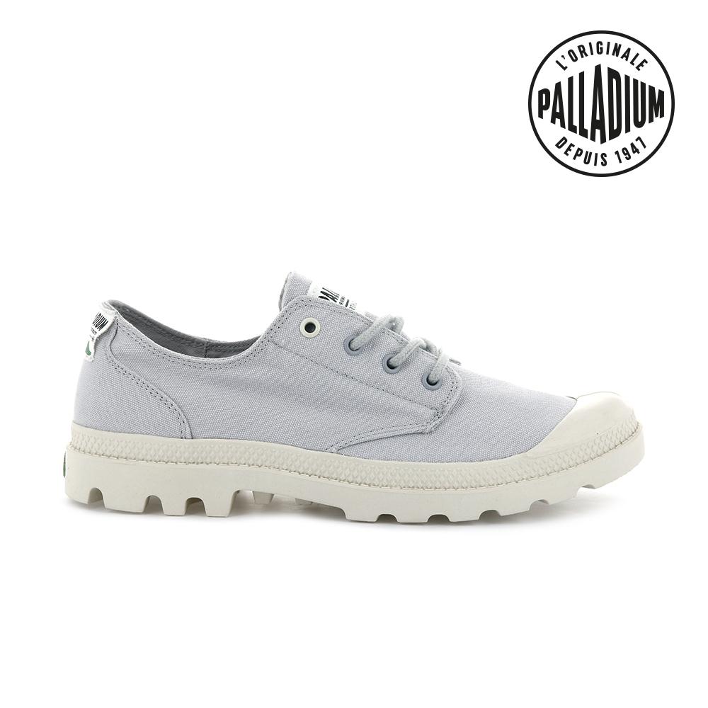 PALLADIUM PAMPA OX ORGANIC有機低筒鞋-中性-灰