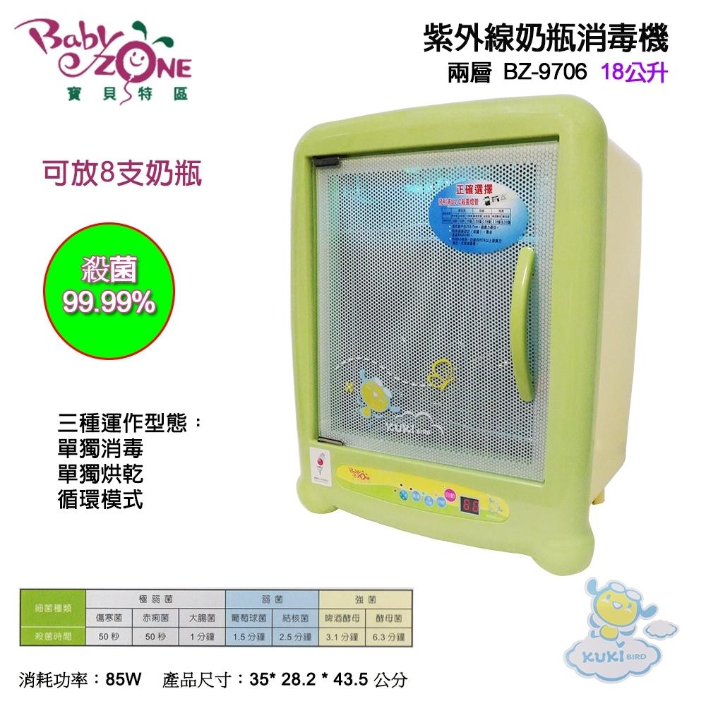 Baby Zone紫外線奶瓶消毒機BZ-9706
