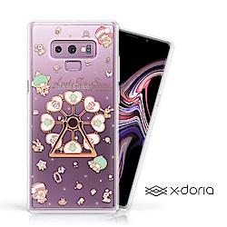 三麗鷗 雙子星 Samsung Note 9 摩天輪旋轉指環背蓋 - 童話樂園